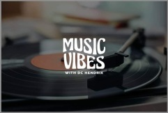 music vibes record logo